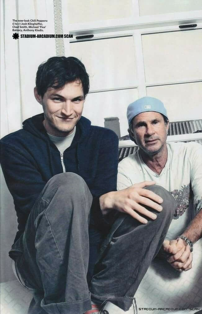 Josh Klinghoffer, Chad Smith, RED HOT CHILI PEPPERS