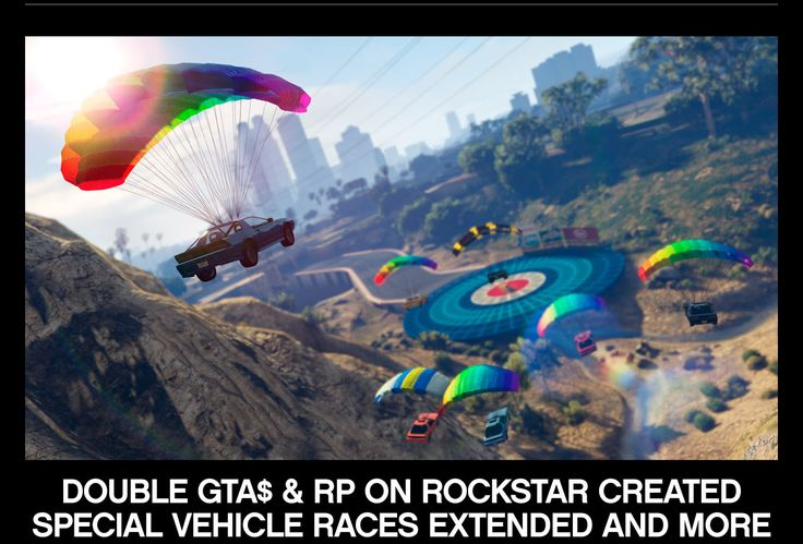 GTA DOUBLE GTAS &RP ON ROCKSTAR CREATED SPECIAL VEHICLE RACES EXTENDED AND MORE