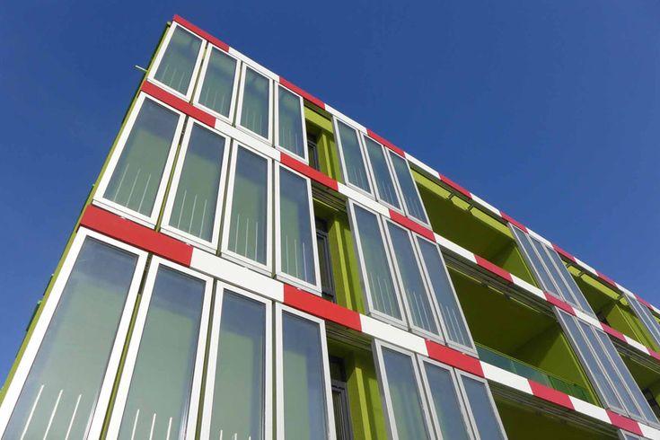 Edificio BIQ (Bio INtelligent Quotient). Calefacción y refrigeración por algas. Una nueva forma de entender la producción de energía sostenible.