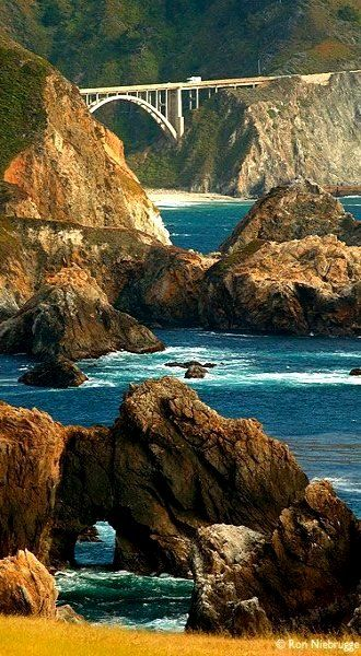 Big Sur Coast, Pacific Coast Highway 1, California