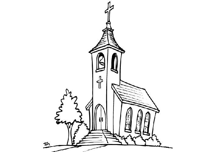Church Coloring Pages 3 Coloring Pages, Fruit Coloring Pages,  Transformers Coloring Pages