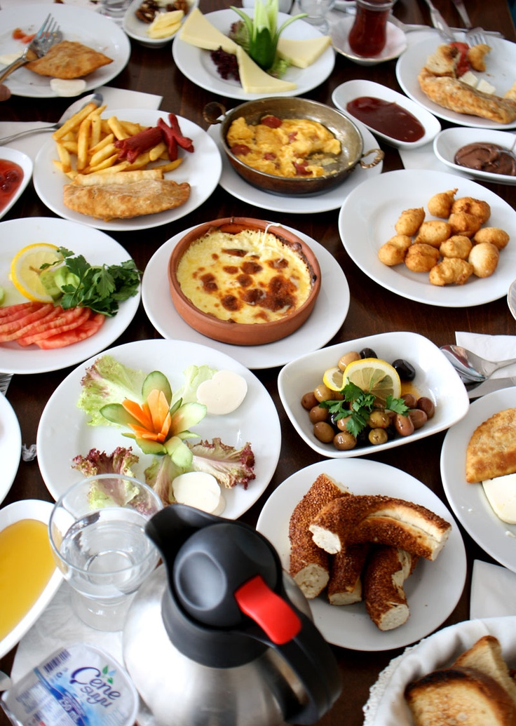 Turkish Breakfast. Want to learn Turkish with us? Check out our locations: http://www.cactuslanguage.com/en/languages/turkish.php