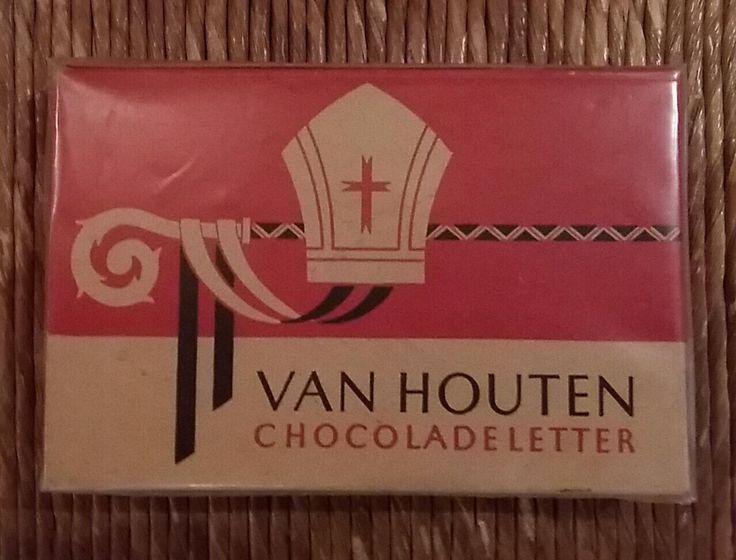 VAN HOUTEN chocoladeletter, museum indezevendehemel te Apeldoorn