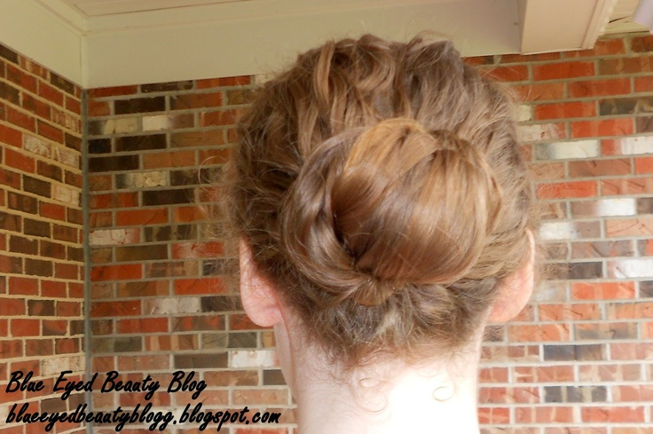 Blue Eyed Beauty Blog: Hairstyle: Wrapped Barrel Roll. Apostolic Pentecostal hairstyles.