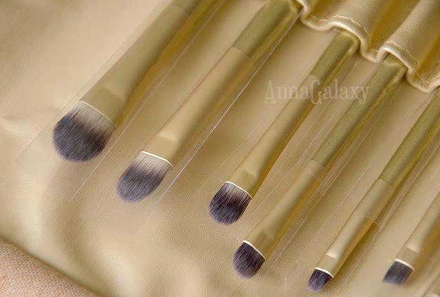 Anna Galaxy: Косметический набор Bremani - набор из 8 кисточек для нанесения макияжа