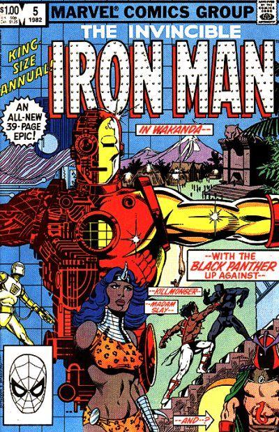 Iron Man annual #5 Marvel Comics