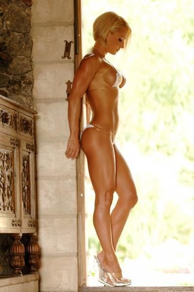 top female fitness models nud