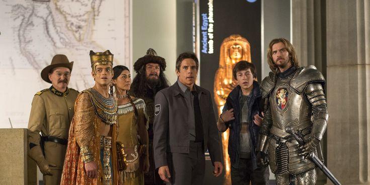 Retrouvez notre article sur la Nuit au Musée 3: le secret des Pharaons de Shawn Levy avec Ben Stiller & Robin Williams