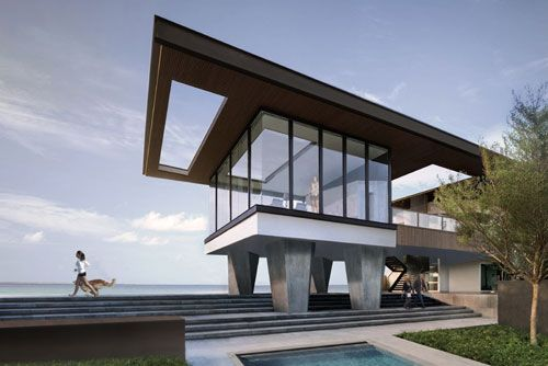 The Phuket Resort : Located on secluded beach front land, the multi dwelling resort offers private and uninterrupted views of the ocean with shared facilities for the guests. The resort is designed to blend and respect the surrounding landscape whilst offering prime views to the ocean on one side and the natural forest on the other.