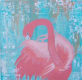 Conscious Art Studios: Pink Flamingo Symbolic Totem Meaning Blog Post