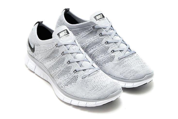 Nike Free Flyknit NSW: Grey
