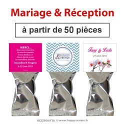 """Le Fortune cookie pour """"Mariages et Réceptions""""   pour accueillir, remercier... avec une petite attention"""
