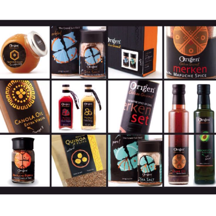 Gourmet products from Chile by Origen!!!