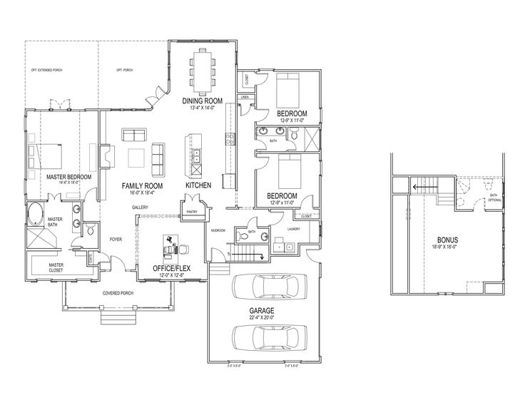 Empty nester house plans plan 69005am an empty dream home for Small empty nester home plans