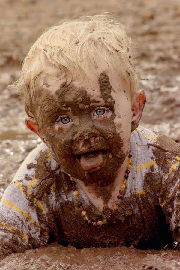 Приветик, смешные картинки грязных детей