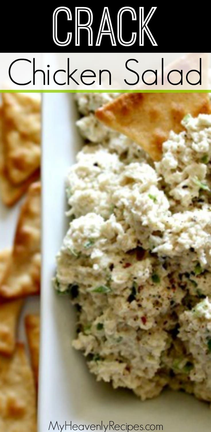 You have never had chicken salad like this! This loaded chicken salad recipe is one of the best tasting things I have ever eaten. It disappears anytime I made it for a potluck or barbecue and everyone is left asking for the recipe. Not to mention, this recipe is KETO approved! #chickensalad #chickenrecipes #lunchrecipe #chicken via @heavenlyrecipe