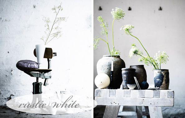 Rustic White: Rustic White, White Interiors