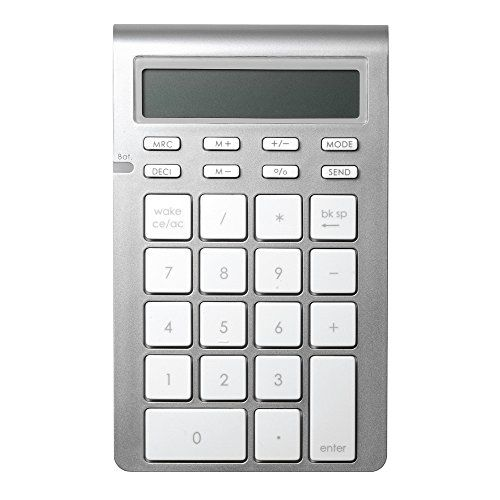 [$9.53 save 77%] #LightningDeal 66% claimed: Satechi Portable Aluminum Bluetooth Wireless 26-Key Keypad and Calc... http://www.lavahotdeals.com/ca/cheap/lightningdeal-66-claimed-satechi-portable-aluminum-bluetooth-wireless/207200?utm_source=pinterest&utm_medium=rss&utm_campaign=at_lavahotdeals