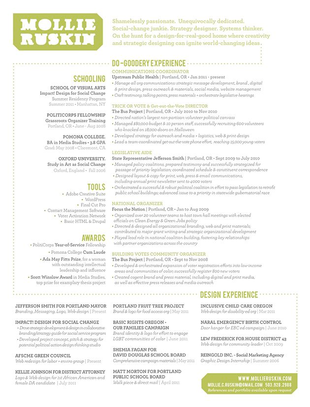 Awesome Resume Samples 50 Best Design Inspiration Images On Pinterest  Design Web .