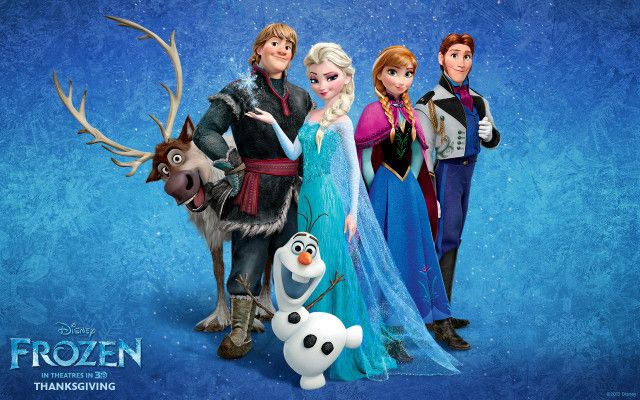 Disney Frozen..took Kaylin to see this and I balled my eyes out! Adding this to my list of Faves :)