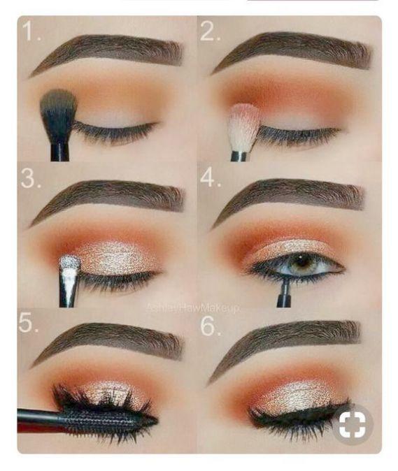 Natürliches Augen-Make-up für braune Augen und braune Haut; Make-up Pinsel Primark jedes Natu …   – Eye Makeup Natural