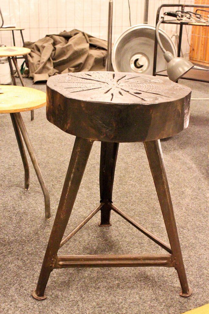 upcycles ROWAC stool by WORKS Berlin