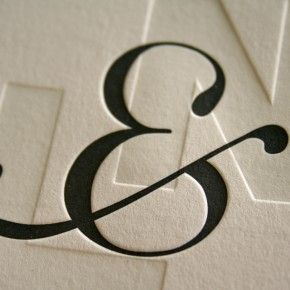 I like the idea of a business card having an imprint and ink. This is stylish and I like it.