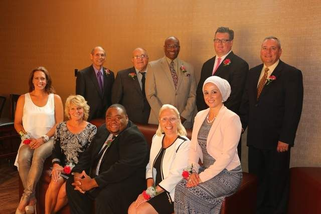 The 2014 RARE Everyday Heroes are (from left to right) Top: Fred Ferris, Michael Simon, James King, John Dignan and Rick Eder. Bottom: Elanah Hunger, Lori 'Maranda' Cook, Marquis Herring, Amy Dore and Lena Masri.