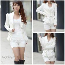 Mode Neue koreanische Frauen Sexy Langarm dünne wilde dünn kleinen Anzug Jacke