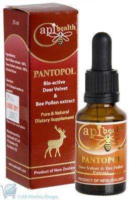 Pantopol - Pollen Bio-Active Extract  -Api Health- 25mls | Shop New Zealand