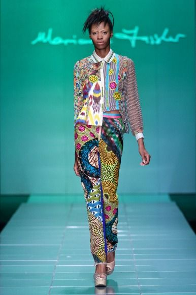 MBFW AFRICA 2013 - Marianne Fassler collection. Credit: SDR Photo