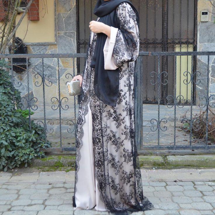 Lace special. #EsteeAudra #abaya