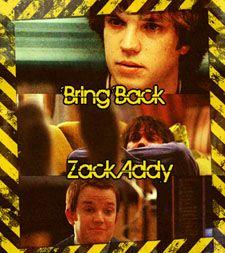 "Bring Back Zack Addy to ""Bones"""
