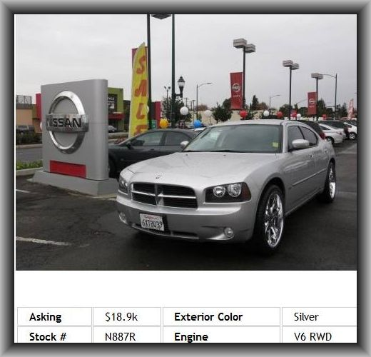 2010 Dodge Charger SXT Sedan  Curb Weight: 3, Power Steering, Abs And Driveline Traction Control, Rear Stabilizer Bar: Regular, 727 Lbs., Cruise Controls On Steering Wheel, Type Of Tires: As, Cargo Area Light, Diameter Of Tires: 17.0, Tires: Prefix: P,