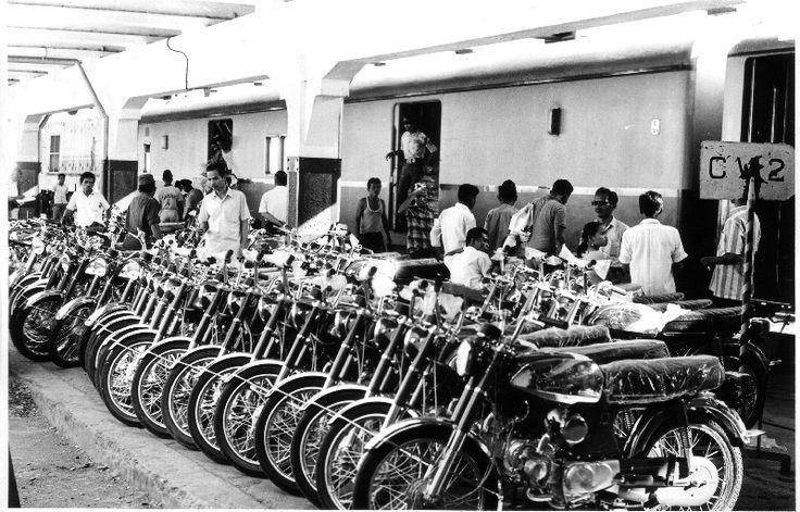 Bahnszenen in Jakarta, 1970