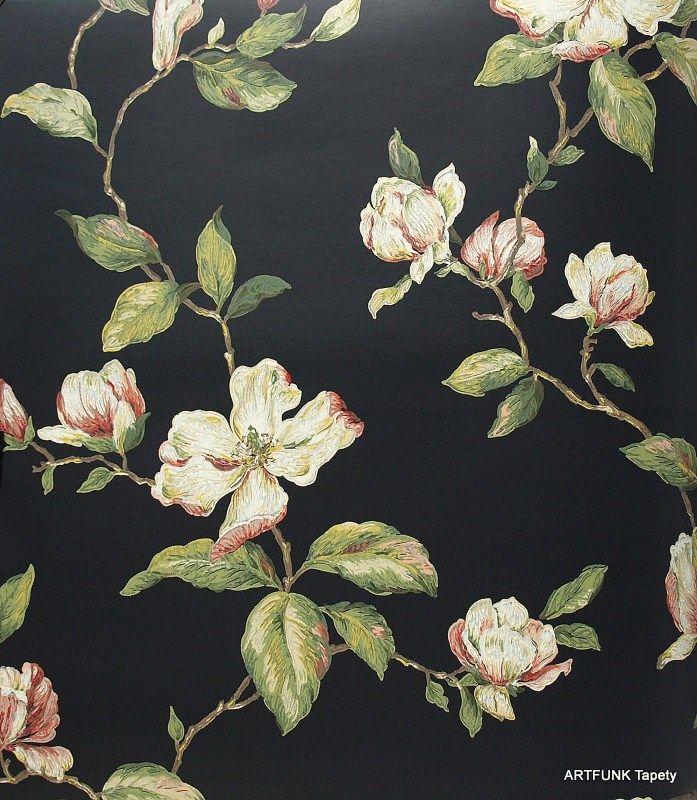 Tapety ścienne w kwiaty - aranżacje i wzory - sklep Artfunk