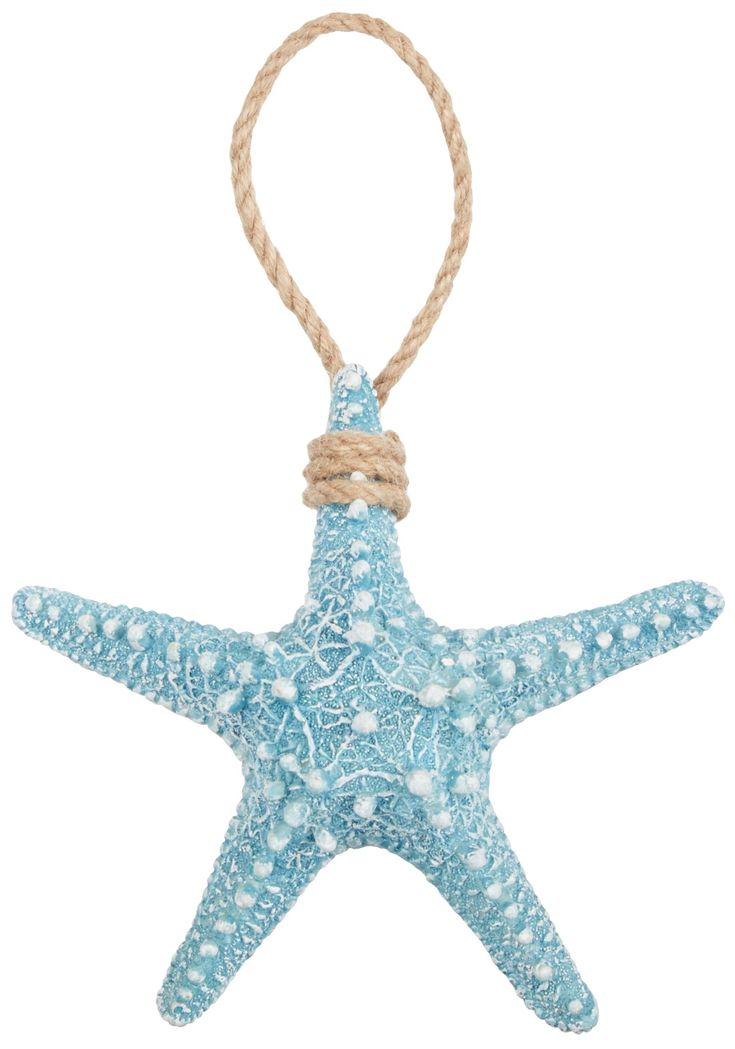 Coastal Decor   Brighten the Season Blue Starfish Christmas Ornament #beallsflorida