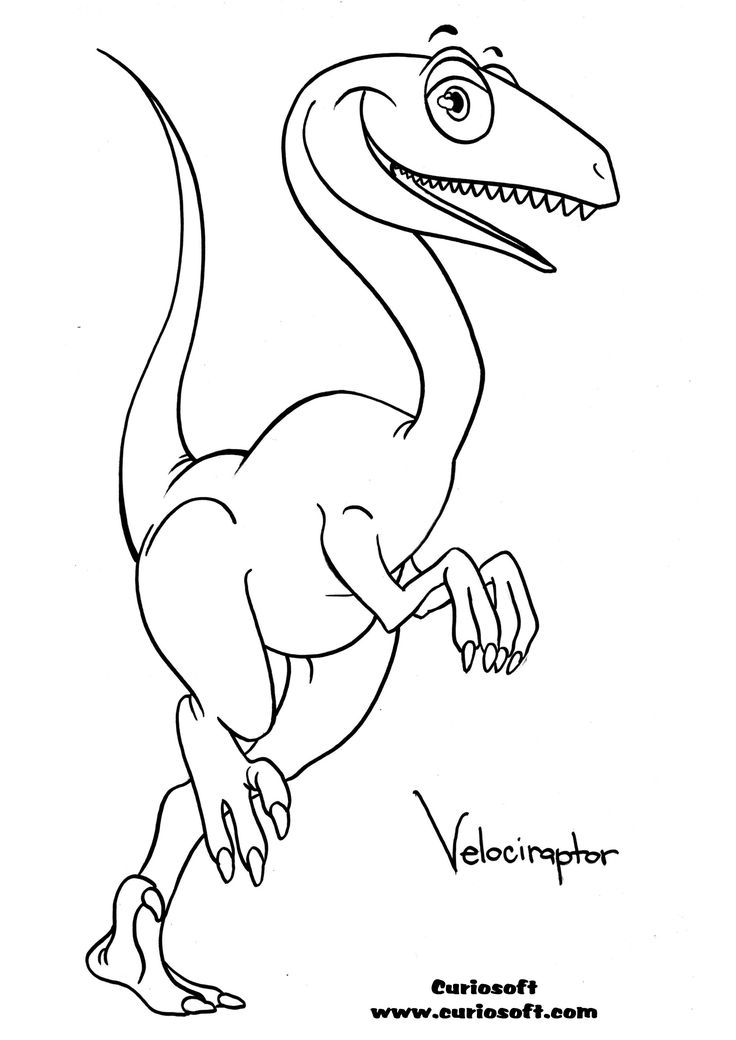 baby velociraptor coloring pages | 38 best Dino images on Pinterest | Dinosaur coloring pages ...