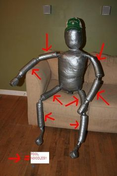 """How To Make An """"El Jefe"""" Grappling Dummy Haha brilliant. Martial arts and fight training jokes"""