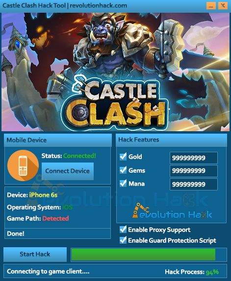 "Castle Clash: Age of Legends Hack Tool Free Gems    ""The world is a battlefield"", so here's to another enormously popular strategy game in multiple countries: Cheers! In order to survive in this cruel and harsh world of ours and to lead your way peacefully and without stress, you need to take a few little, tiny shortcuts, if you know what we mean? Yes, we mean we developed a few of those shortcuts for you again, because that's our job in this battlefield called life.  We present to you the…"