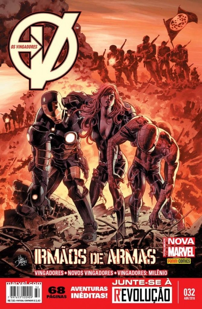 LIGA HQ - COMIC SHOP NOVOS VINGADORES (MARVEL NOW) #32 - Marvel PARA OS NOSSOS HERÓIS NÃO HÁ DISTÂNCIA!!!