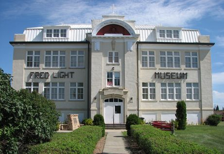 The Fred Light Museum in Battleford, Saskatchewan now belongs to the Town of Battleford, but most of the fantastic collection of artifacts inside was compiled by my great-uncle Frederick Light.