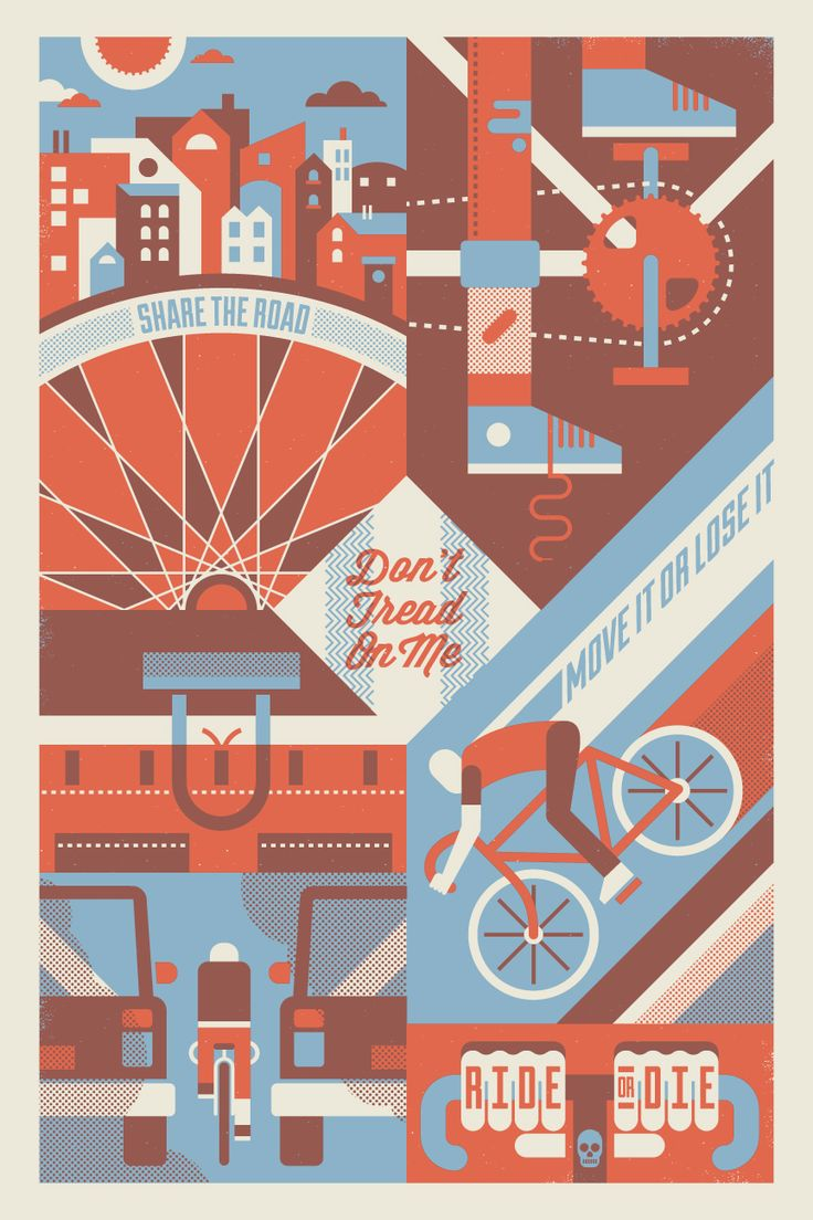 Ride or Die - Great poster by Bandito Design Co.