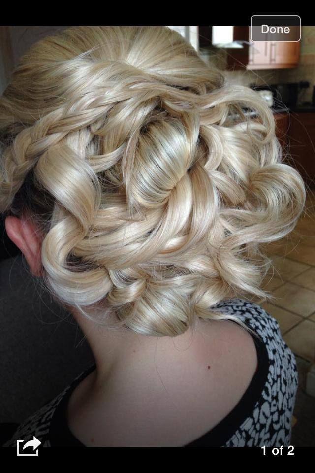 gemmas bridal hair trial by rachael white freelance stylist blonde curls - Freelance Stylist