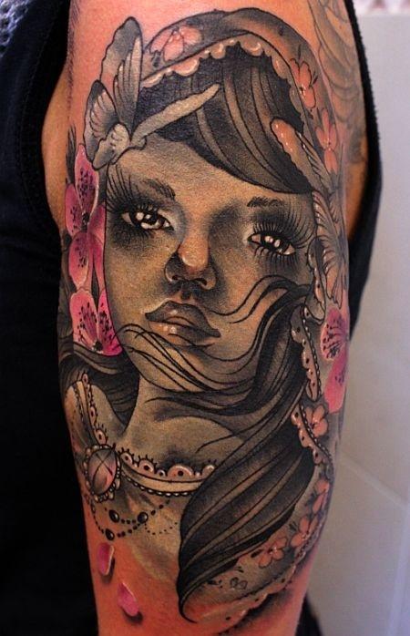 Verspielte Tattoos
