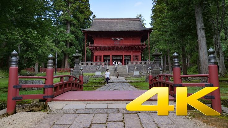Iwakiyama Shrine - Aomori - 岩木山神社 - 4K Ultra HD 🎑 ⛩ 🇯🇵