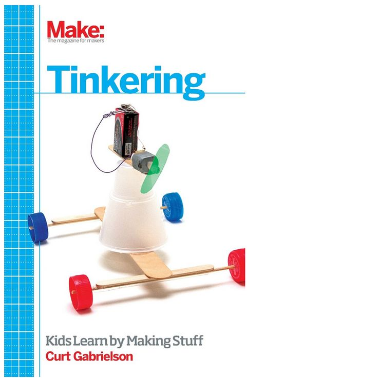Science is best learned hands-on, not by taking tests. http://www.makershed.com/Tinkering_p/9781449361013-p.htm