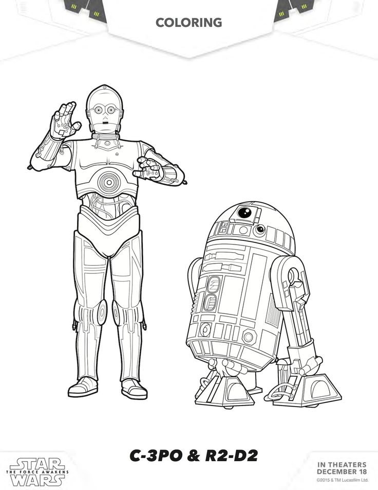 free star wars coloring pages - Starwars Coloring Pages Printable