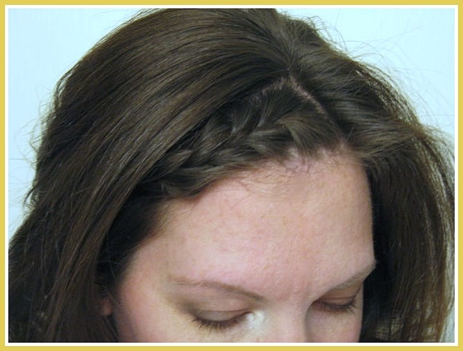 French Braided Bang Tutorial
