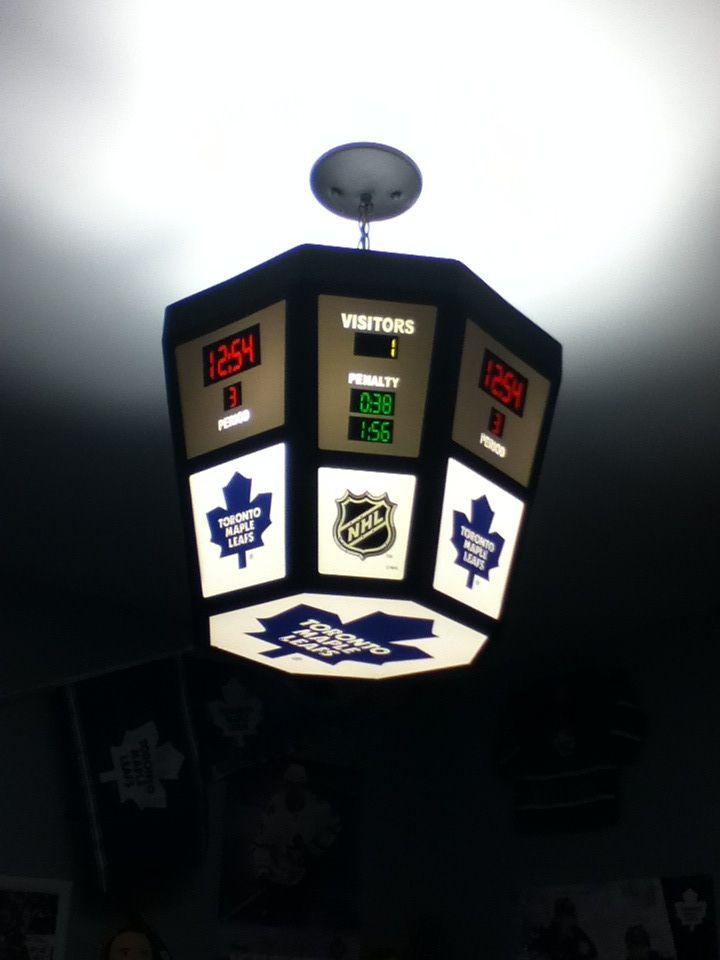 The best score board light if you were a Toronto maple leafs fan I got it in Ottawa on a family vacation